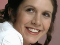 Star Wars Episode VII star talks reprising her role as Princess Leia.