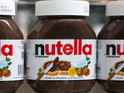 Jars of Nutella
