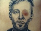 A huge Radiohead fan has a unique way of showing his appreciation.