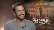 Digital Spy caught up with Gerard Butler and Aaron Eckhart to talk about their latest roles in Olympus Has Fallen.