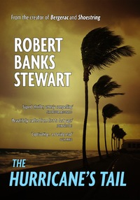 Robert Banks Stewart novel 'The Hurricane's Tail' front cover