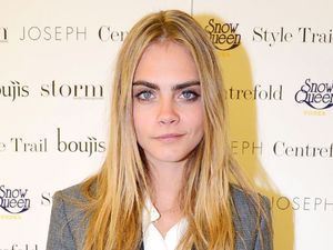 Cara Delevingne, Storm agency, 'Taken By Storm' exhibition at Joseph, London