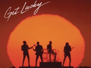 Daft Punk - &#39;Get Lucky&#39; artwork