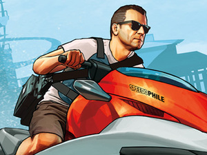 GTA 5 Wallpaper Cash and Carry