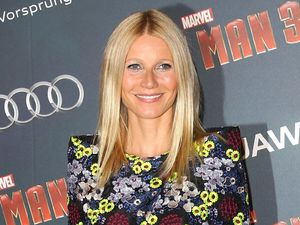 Gwyneth Paltrow, Iron Man 3, floral jumpsuit, fashion & beauty