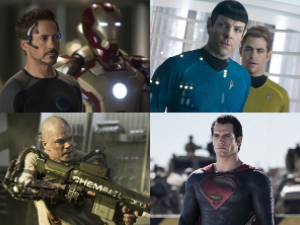 Star Trek Into Darkness, Man of Steel, Iron Man 3, Elysium summer blockbuster poll