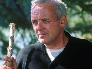 Anthony Hopkins in 'The Edge'