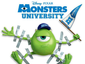 &#39;Monsters University&#39; UK poster