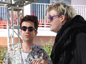 Nick Grimshaw, Blood Diamonds, House of Holland, Coachella 2013