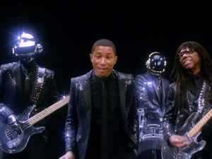 Daft Punk 'Get Lucky' video still