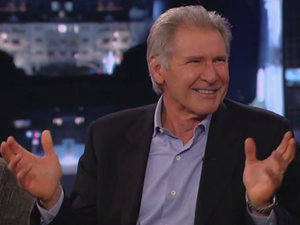 Harrison Ford on the Jimmy Kimmel show
