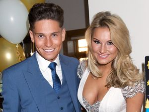 Joey Essex and Sam Faiers engagement party, Woolston Manor Golf and Country Club, Chigwell.