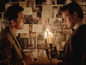 Alec Palmer (Dougray Scott) & The Doctor (Matt Smith) in Doctor Who S07E04: &#39;Hide&#39;