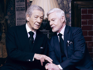 Ian McKellan and Derek Jacobi in ITV's 'Vicious'
