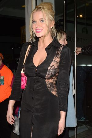 Helen Flanagan, sheer dress