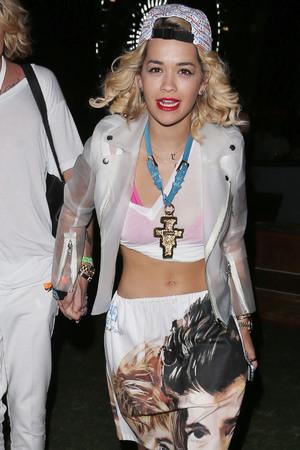 Rita Ora, Coachella music festival 2013