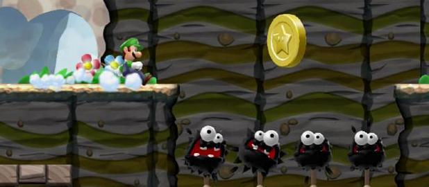 'Super Luigi Bros U' screenshot