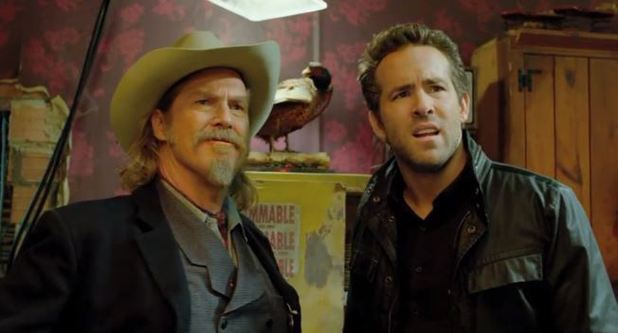Jeff Bridges and Ryan Reynolds in 'R.I.P.D' trailer