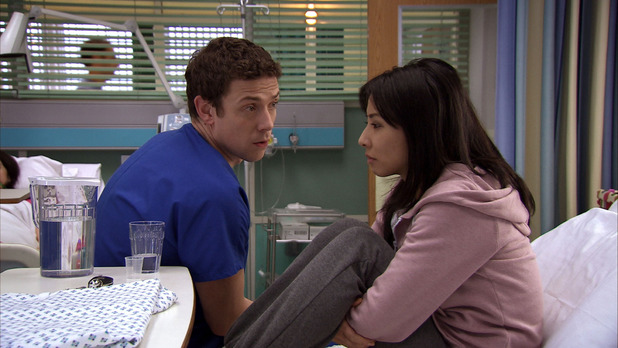 Tara Lo in Holby City