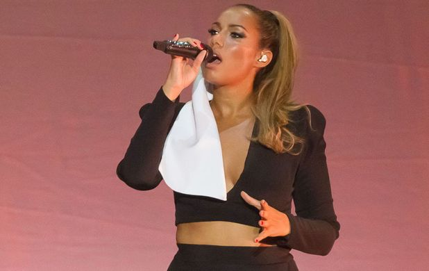 Leona Lewis performs in Berlin, Germany for the opening night of her Glassheart tour
