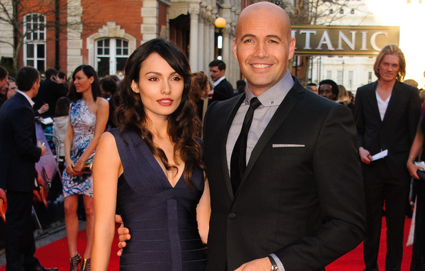 Candice Neil and Billy Zane