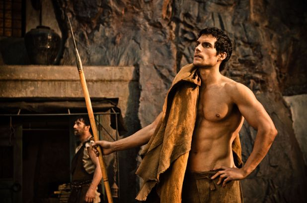 Immortals, Henry Cavill, shirtless