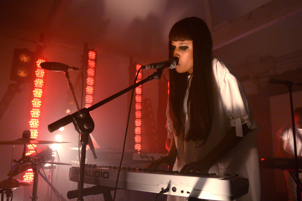 VV Brown performs secret gig in London