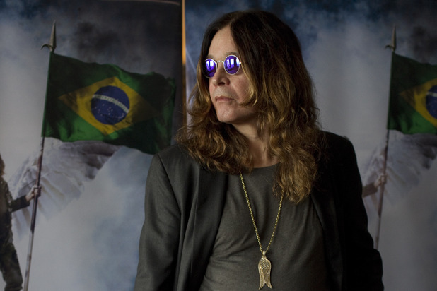 Ozzy Osbourne in Brazil ~~ April 1, 2011