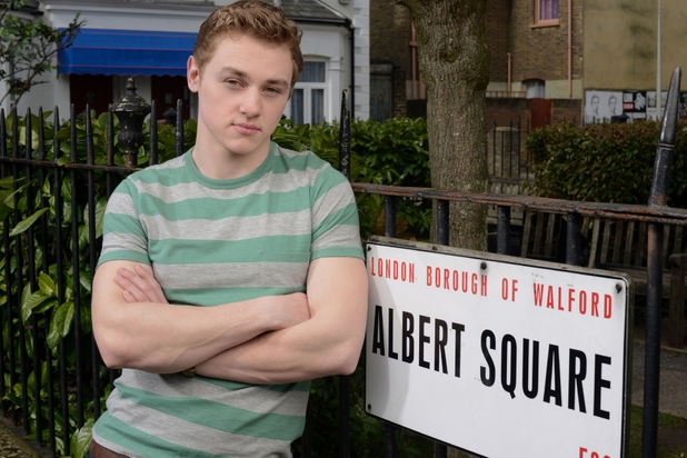Ben Hardy as Peter Beale in EastEnders
