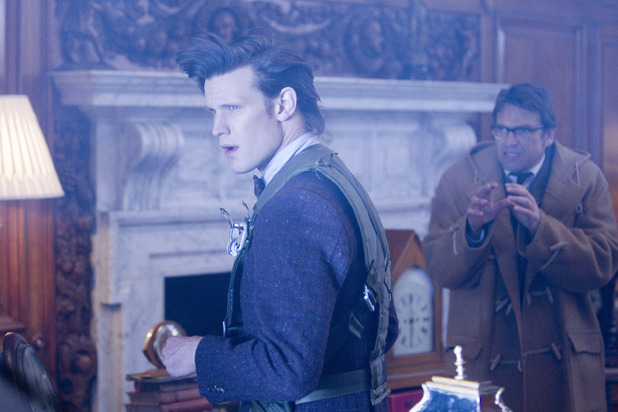 Alec Palmer (Dougray Scott) & The Doctor (Matt Smith)
