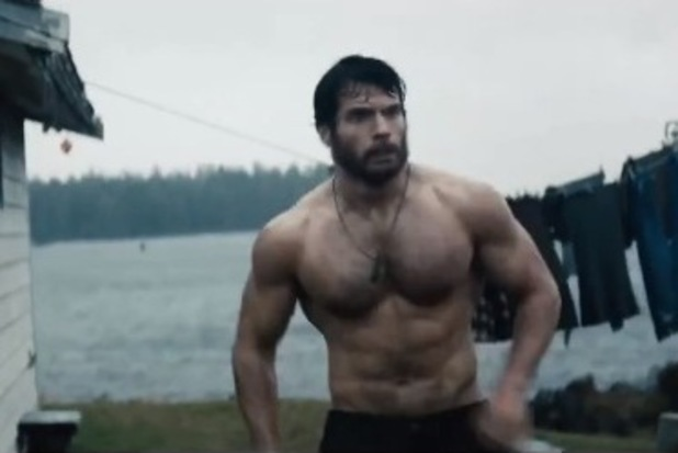 Man of Steel, Henry Cavill, shirtless, Superman