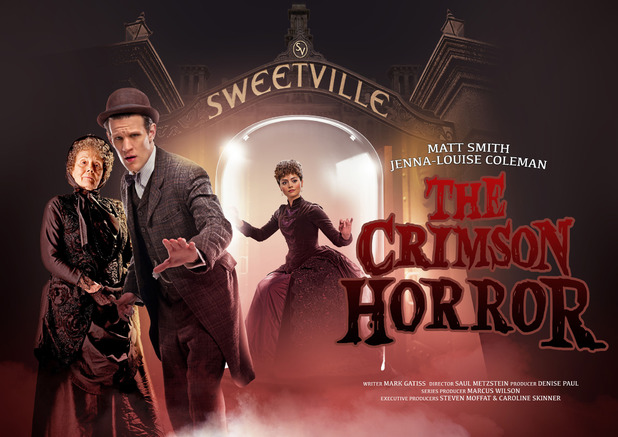 Poster for Doctor Who's 'The Crimson Horror'