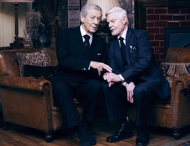 Ian McKellen and Derek Jacobi in ITV's 'Vicious'