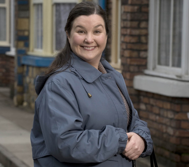 Patti Clare as Mary Taylor in Coronation Street