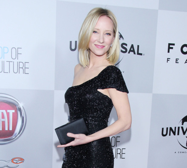 Anne Heche, HBO Golden Globes afterparty