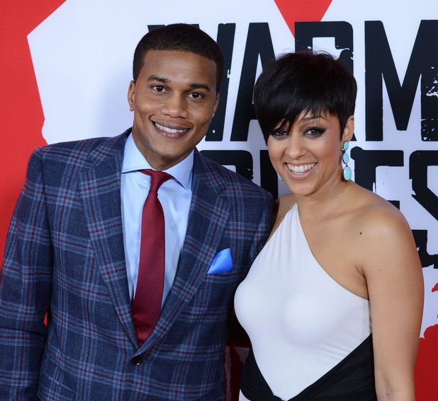 Tia Mowry and Cory Hardrict, 'Warm Bodies' LA premiere