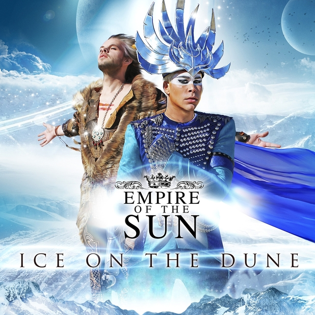 Empire Of The Sun 'Ice On The Dune' album artwork.