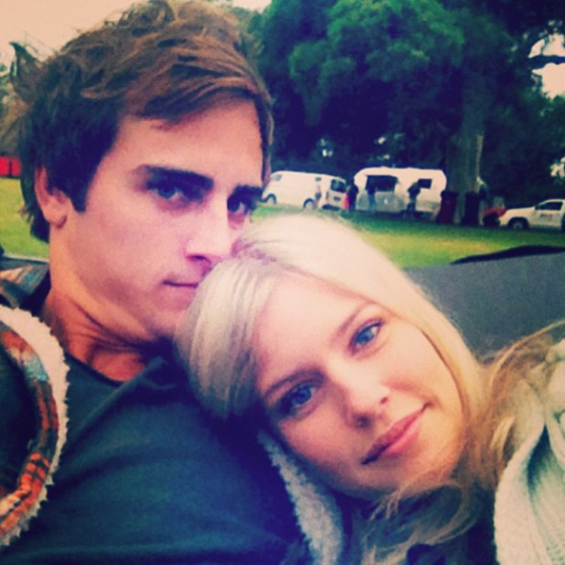 Christopher Milligan and Jenna Rosenow