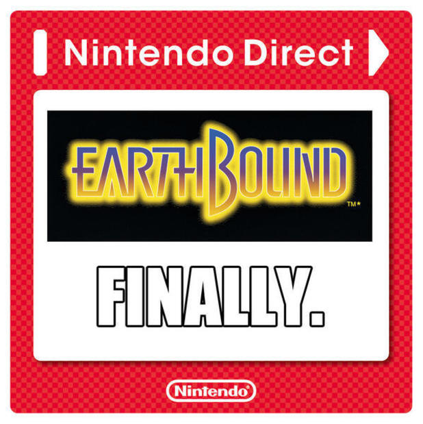 Earthbound for Virtual Console