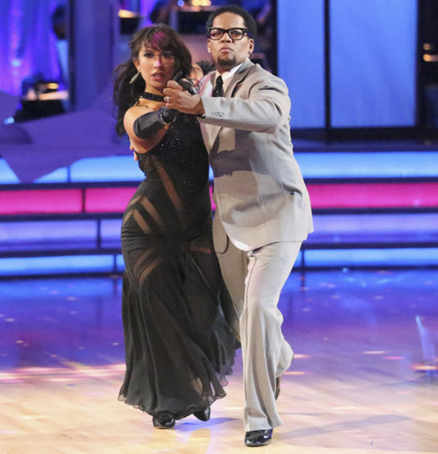Dancing with the Stars - week 5: DL Hughley & Cheryl Burke