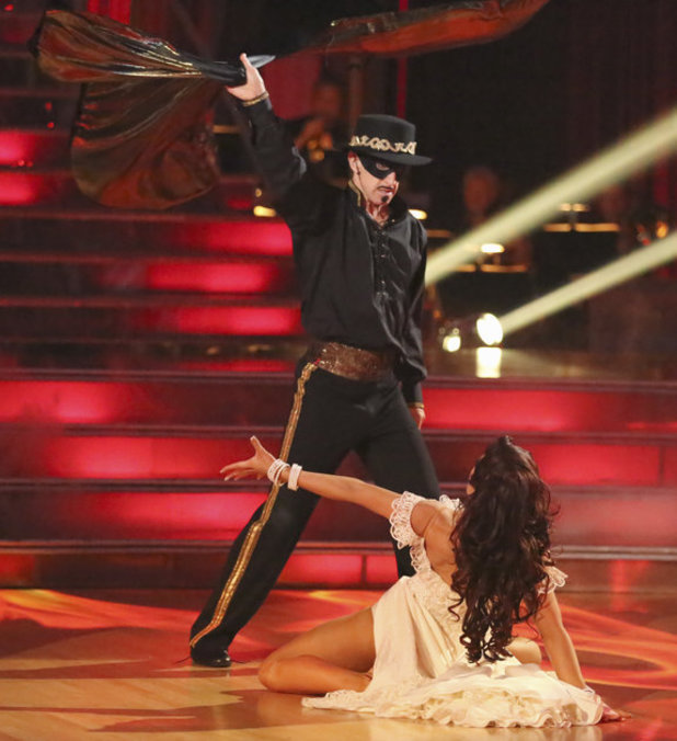 Dancing with the Stars - week 5: Andy Dick & Sharna Burgess