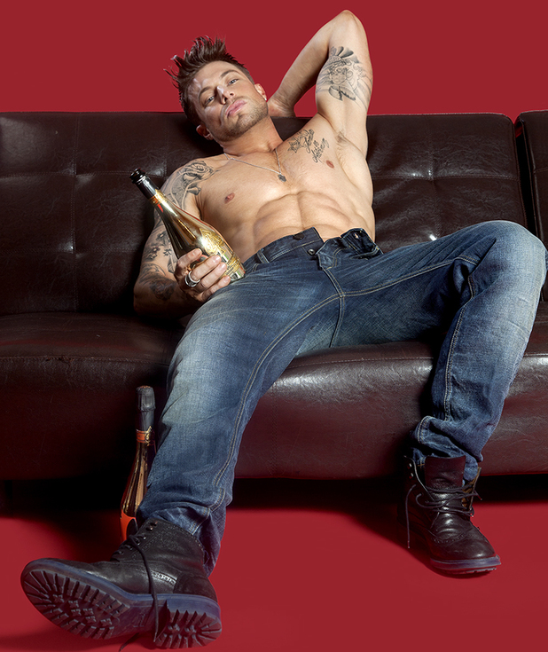 Duncan James from Blue in Gay Times