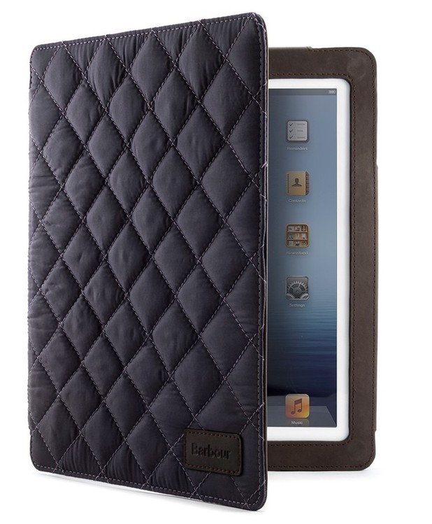 Barbour iPad cover
