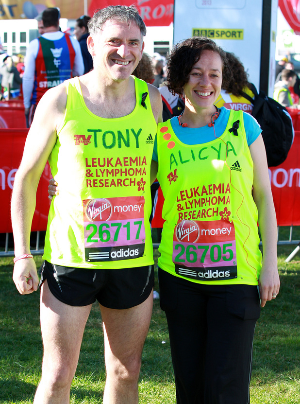 Tony Audenshaw and Alicya Eyo