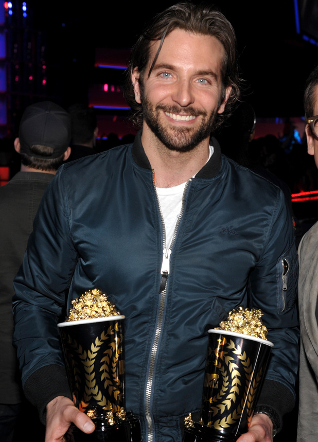 MTV Movie Awards 2013: Bradley Cooper ('Best Male Performance' and 'Best Kiss')