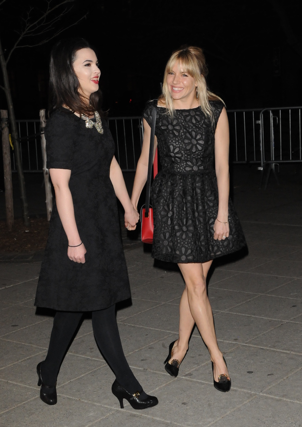 Sienna Miller and Matilda Sturridge