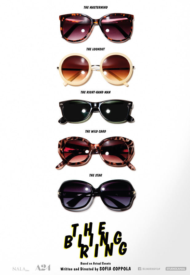 'The Bling Ring' teaser poster