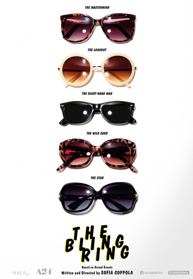 'The Bling Ring' teaser poster
