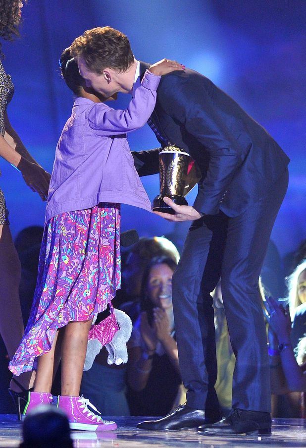 Quvenzhane Wallis & Tom Hiddleston