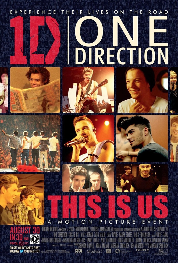 One Direction's 'This Is Us' movie poster